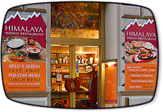 Indická restaurace Praha - Himalaya is well-known Prague Restaurant. We offers meat and vegetarian dishes. Try authentic indian recipes. Indická restaurace.